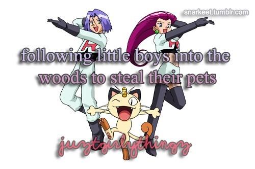 pokemon memes team rocket just girly things