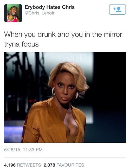 drunk, self, pep talk, mirror