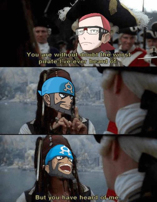 pokemon memes pirates of the carribean archie