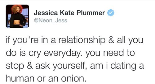 relationships, twitter, boyfriend, crying, onion