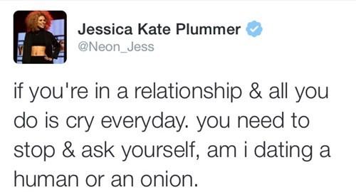 relationships, twitter, boyfriend, crying, onion