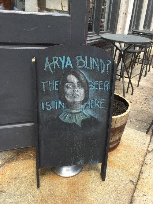 Game of Thrones memes season 5 Arya Stark is blind drunk