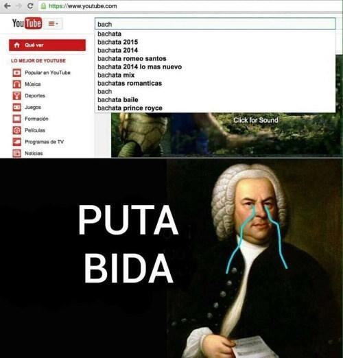 Bach ya no es lo que era
