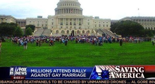 new show estimates thousands at gay marriage rally image