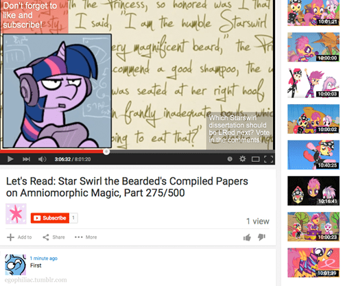 youtube twilight sparkle star swirl - 8525458432