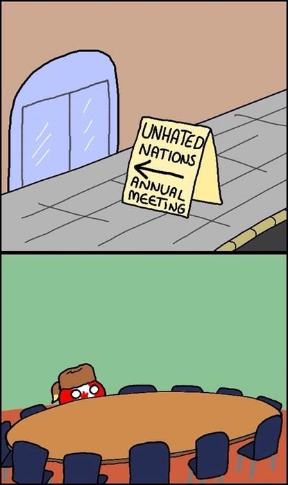 Cartoon - UNHATED NATIONS ANNUAL MEETING