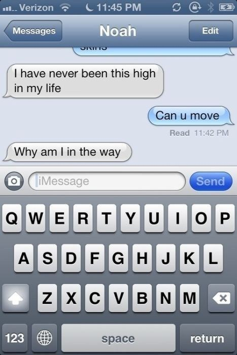texting, high, way, question