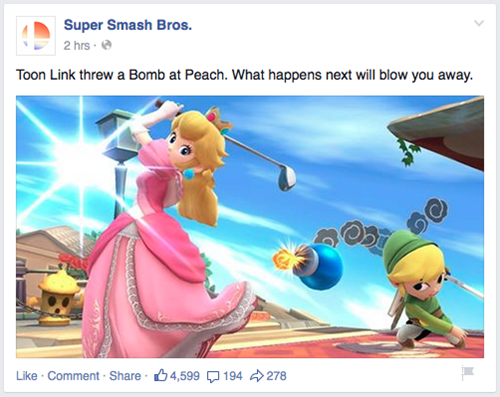 link,peach,super smash bros
