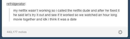 netflix, date, watching tv