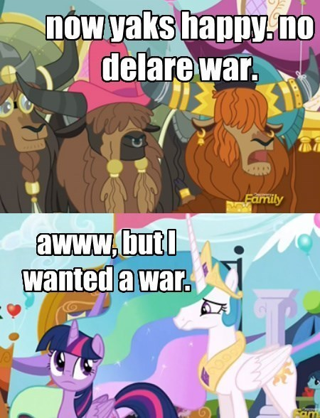 yaks war princess celestia - 8525701888
