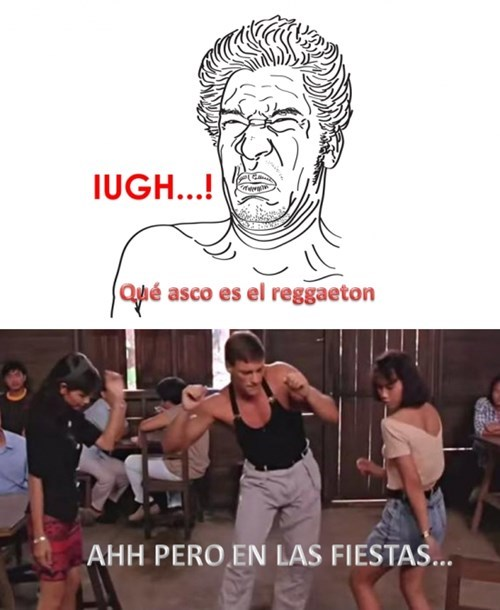 que asco el reggaeton