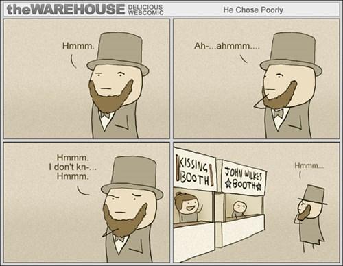 abraham lincoln puns web comics
