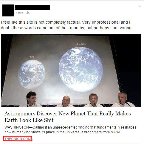 the onion, earth, planet, confusion