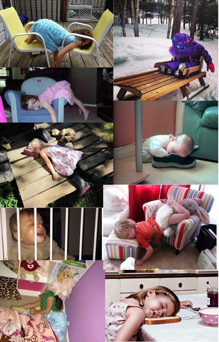 kids, cute, sleeping