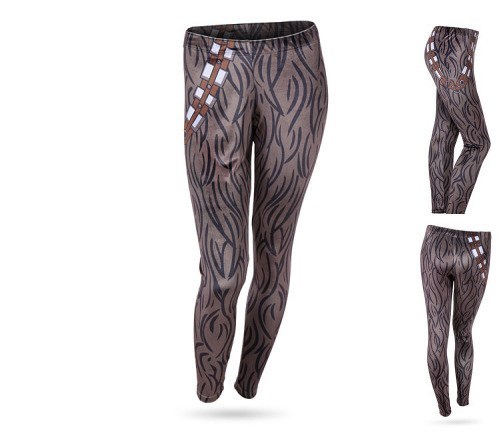 velvet chewbacca leggings
