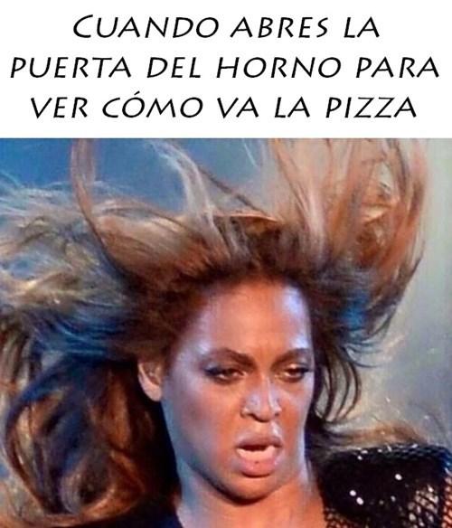 ver la pizza