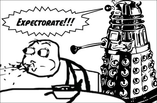 dalek rage face Memes doctor who - 8526347520