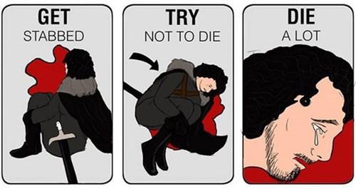 Game of Thrones memes season 5 Jon Snow tried
