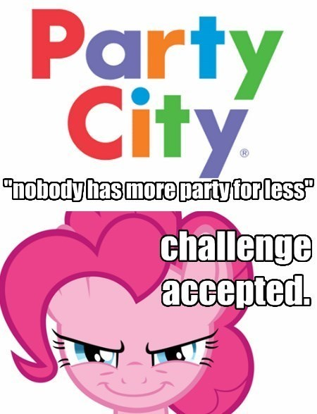 false advertising pinkie pie super duper party pony party city - 8526397184