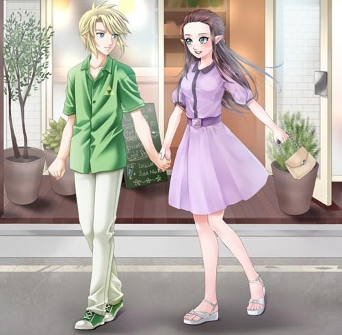 link anime legend of zelda manga zelda - 8526705664