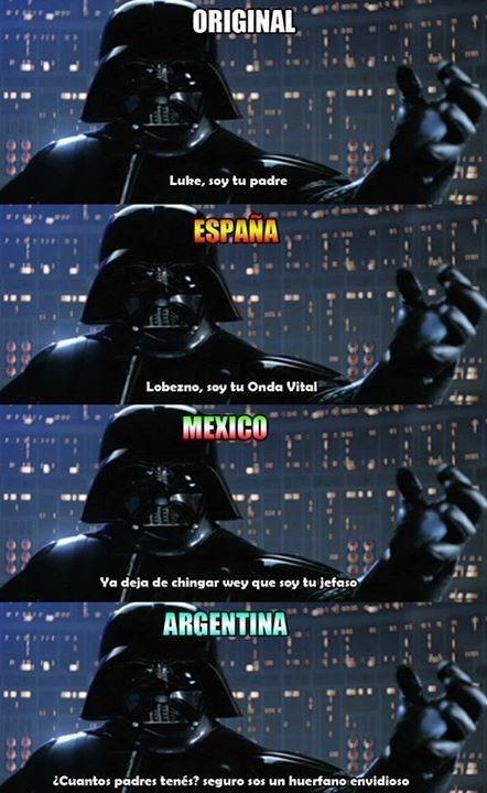 traducciones del mundo español