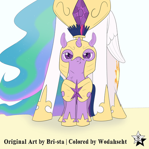 Fan Art twilight sparkle cute squee - 8526989312
