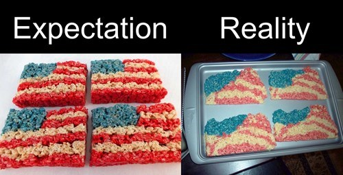 FAIL,flags,america,food,Nailed It