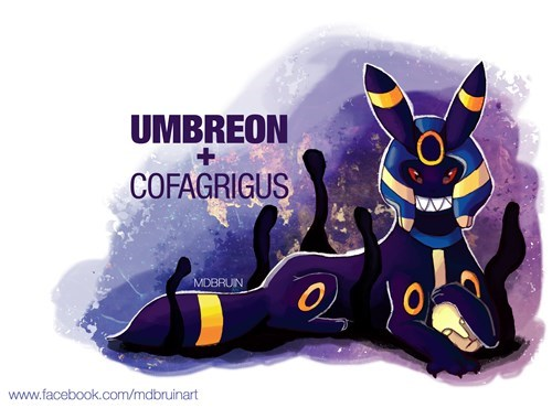 cofagrigus umbreon pokemon variations - 8528141568