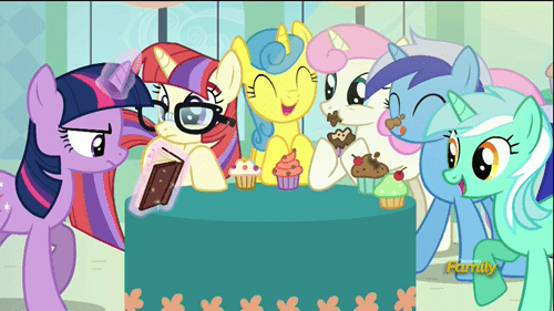unicorn,mane 6,segregation
