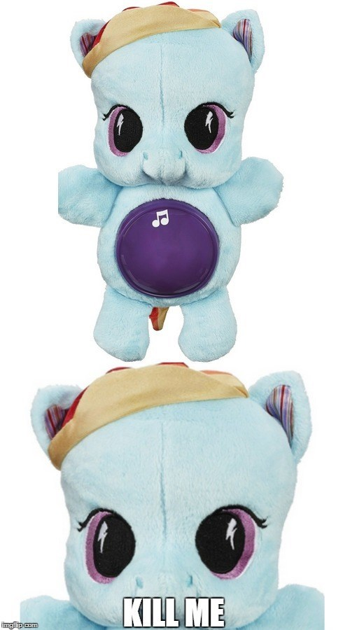 kill me Plushie MLP nightmare fuel - 8528782080
