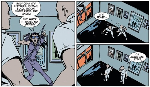 superheroes-hawkeye-marvel-kate-bishop-distraction-panel