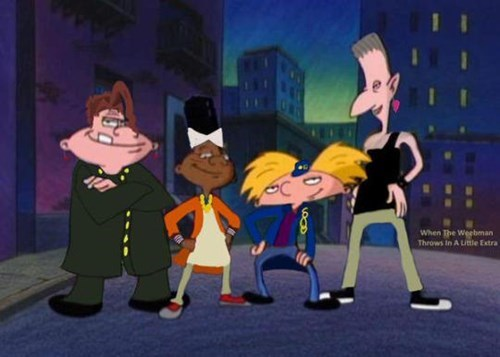 crossover JoJo's Bizarre Adventure cartoons hey arnold - 8528898048