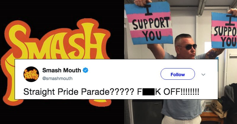 Music twitter gay rights equality social media trending smash mouth funny band win - 8528901