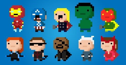 superheroes-avengers-marvel-cute-8-bit-art