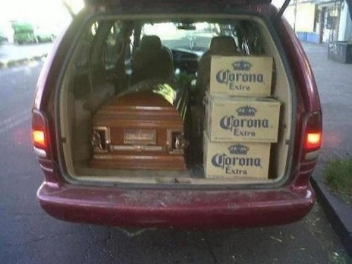funeral, hearse, coffin, corona