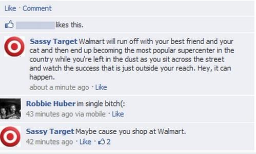 target, walmart, sassy, comments