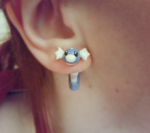 pokemon memes dratini earrings