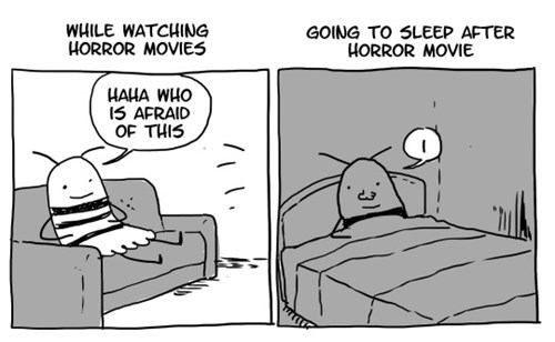 funny-web-comics-how-horror-movies-affect-people