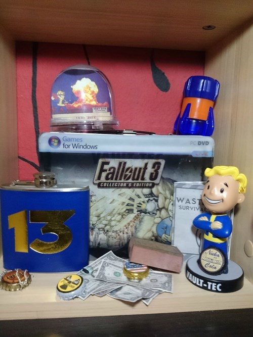 Toy - TEY ST PC DVD Games for Windows Falleut 3 COLLECTOR'S EDITION WAST SURVIVAL Nuka Cola AULT-TEC