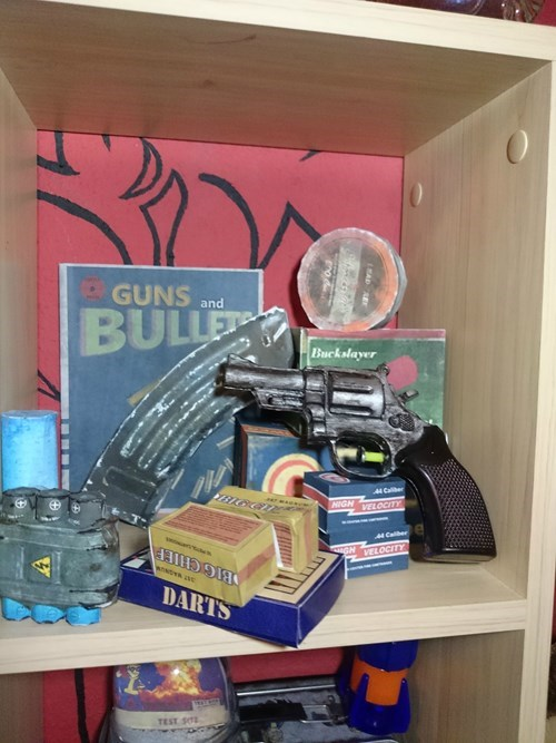 Toy - GUNS and BULLE Buckslayer 4 Calber BICCn NIGHVELOCITY Calber GH VELOCITY DARTS TEST S0