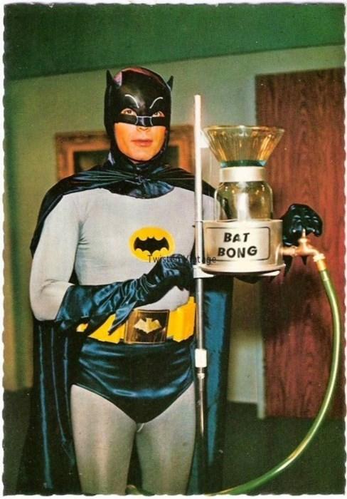 batman, bong, marijuana, alfred