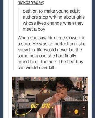 young adult novel, books, narrator, girls, twilight