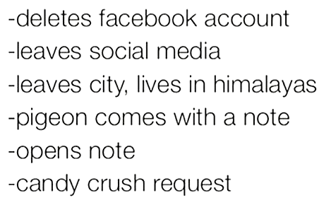 candy crush, escape, facebook games