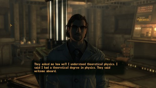 Quite Possibly the Best Line in Fallout: New Vegas