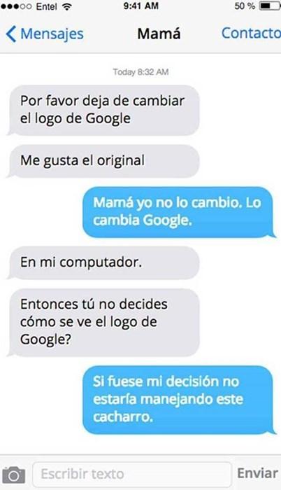 tu cambias google