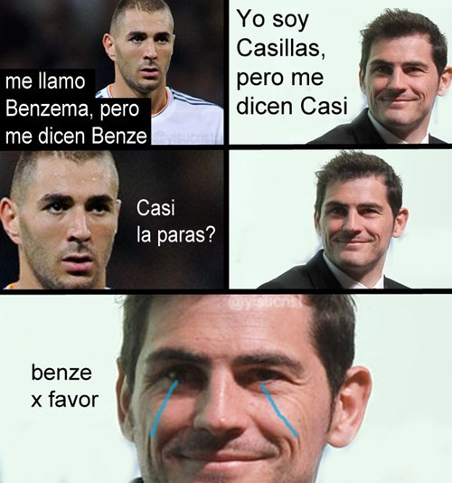 Casillas Benzema