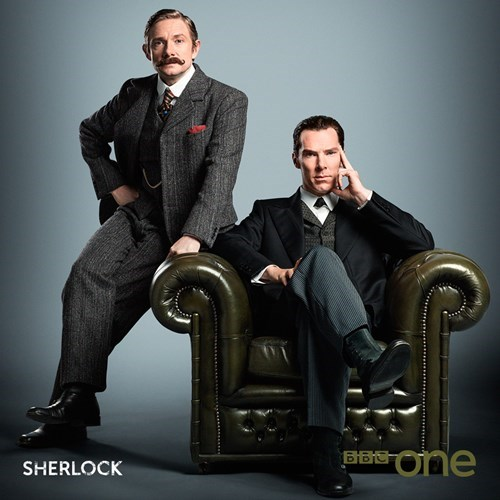 Sherlock's Christmas special gets a new photo.