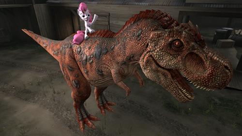 pony stacking pinkie pie dinosaur - 8532604928