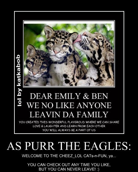 AS PURR THE EAGLES: