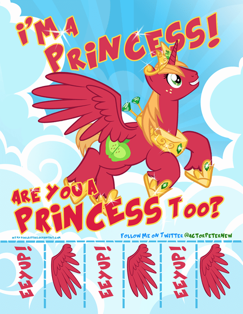princess alicorn big mac - 8533448192